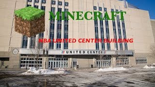Minecraft NBA Chicago Bulls United Center Stadium