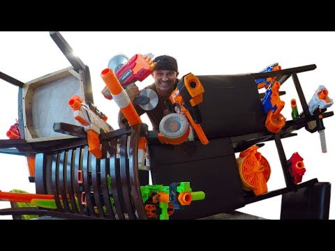 NERF Build Your Fort Challenge!