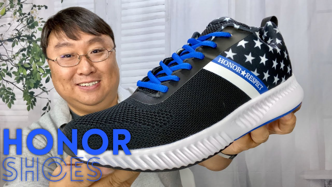 Respect Blue Line Police Shoes Unboxing