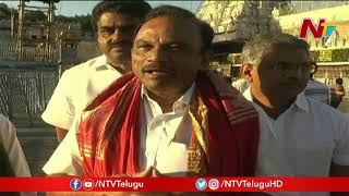 YCP MP Magunta Srinivasulu Reddy Offers Special Prayers At Tirumala