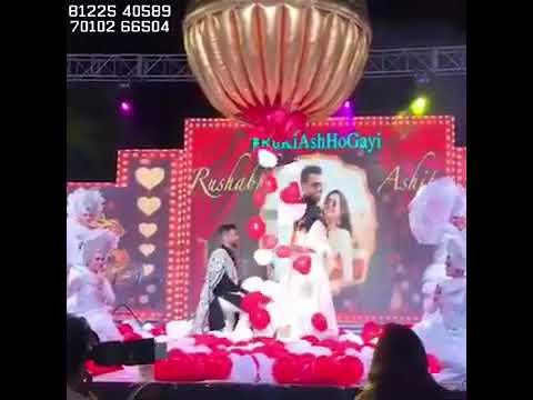 Balloon shower Bride Groom Entry on wedding Stage Decoration India +91 81225 40589 (WA)