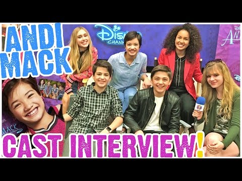 Andi Mack CRUSHES It! Peyton Elizabeth Lee, Asher Angel, Joshua Rush, Sofia Wylie & Emily Skinner!
