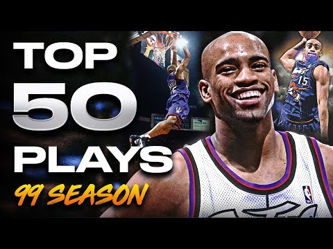 Vince Carter Top 50 Plays 1999 Rookie Season