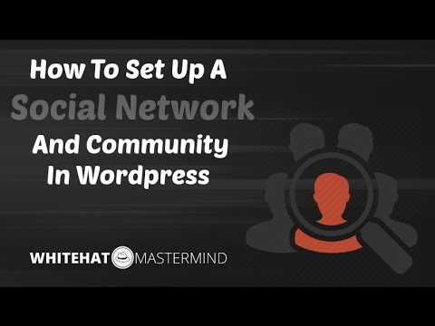 How To Set Up A Social Network And Community In Wordpress With Buddypress And bbPress