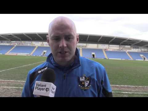 Freeview: Rob Page Post Chesterfield (A) 2015/16
