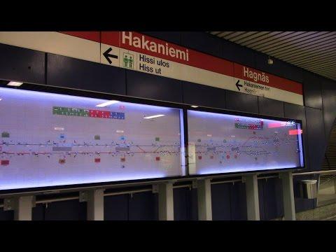 Helsinki Metro Branches Helsingin metro haaraan Helsingfors metro grenledningar