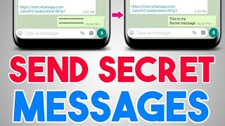 How to Send Secret Messages In Whatsapp, Facebook Messenger, Instagram & SMS,etc   Hindi
