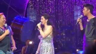 regine velasquz john sweet lapus vice ganda silver concert november 16 2012