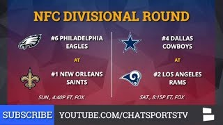 NFL Playoff Bracket: NFC & AFC Playoff Schedule, Picture And Matchups For 2019 Divisional Round