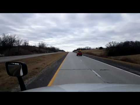 BigRigTravels LIVE! Marshall to Springfield, Missouri US 65 South-Jan. 26, 2018