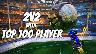 What it's like playing at Top 100 in Rocket League.. | Grand Champion 2v2