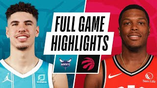 HORNETS at RAPTORS | FULL GAME HIGHLIGHTS | January 14, 2021