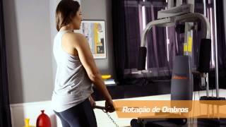 Guia de exercícios da Estação de Musculação Athletic Advanced 280M