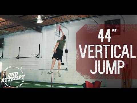 44″ Vertical Jump
