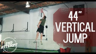 """44"""" Vertical Jump Overtime Athletes"""