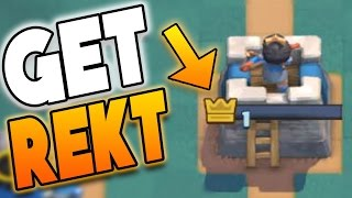 """Clash Royale - """"UNLUCKIEST PLAYER EVER!!"""" WTF! HUGE 1 HP LOSE (Clash Royale Strategy Funny Moments)"""