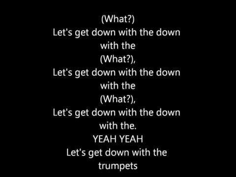 Rizzle Kicks - Down With The Trumpets - (Lyrics)
