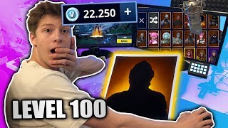 SEASON 4 BATTLEPASS STUFE 100 - 22.000 V-Bucks • Fortnite deutsch