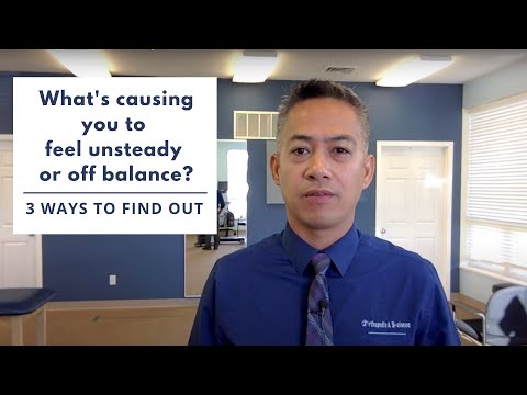 What's causing you to feel unsteady or off balance? | OBTS