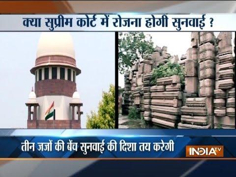 Ayodhya dispute: SC to hear Ram Mandir-Babri Masjid case today