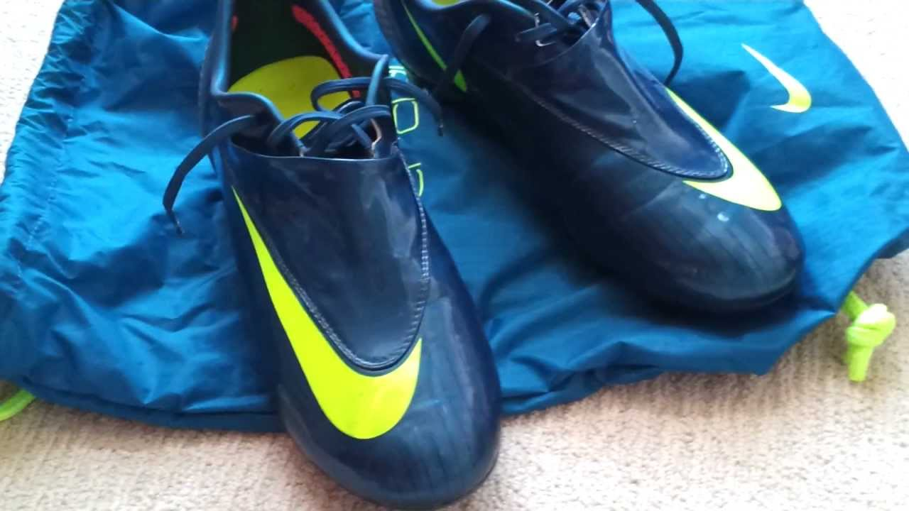 classic fit 5a4be 6fb74 Nike Mercurial Vapor IV Neptune Blue FG Review - YouTube