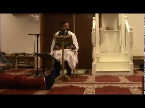 علي سعيد رياض الصالحين درس  Friday 17 Jan 2014 Bergen Mosque