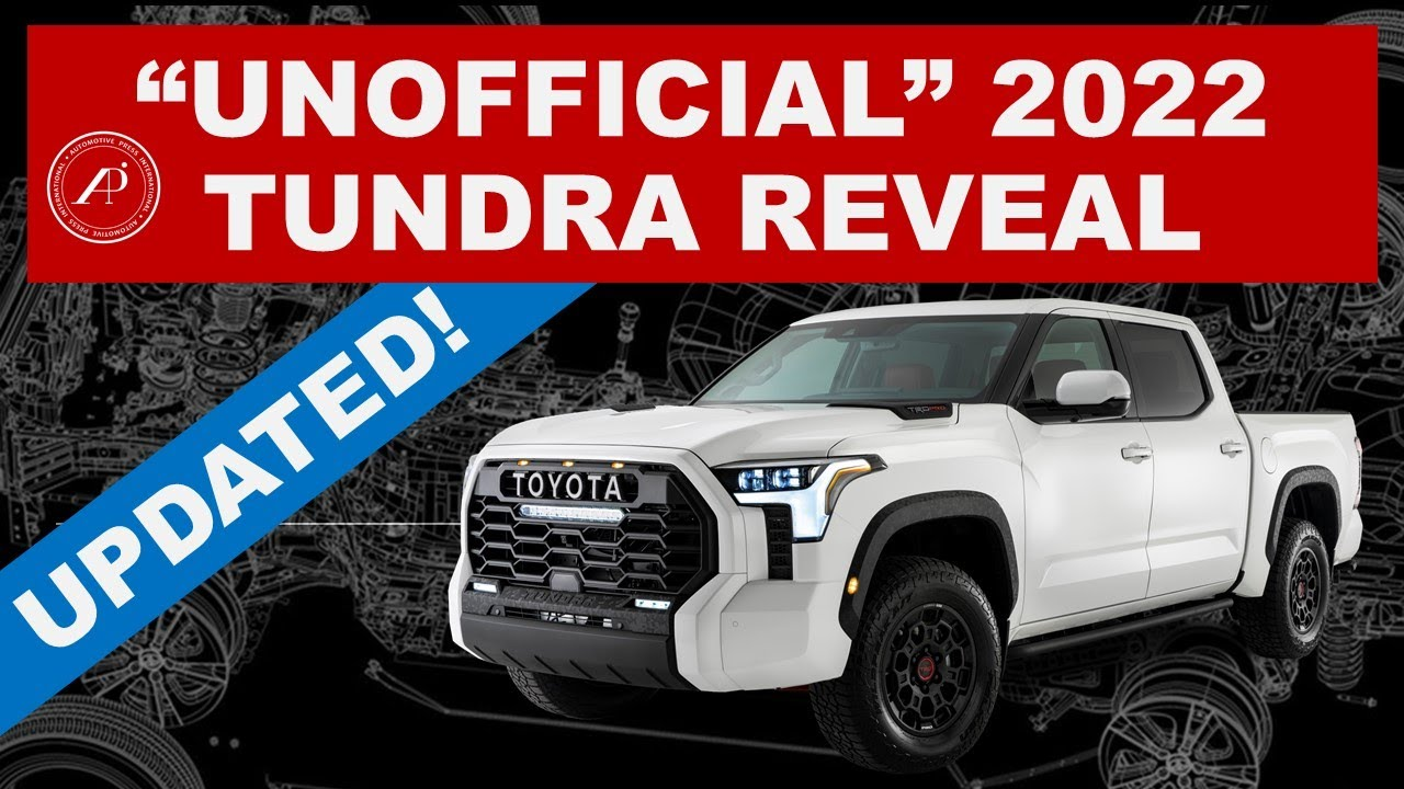 """UPDATED VERSION OF THE """"UNOFFICIAL"""" 2022 TOYOTA TUNDRA REVEAL VIDEO / Latest Version 7.0"""