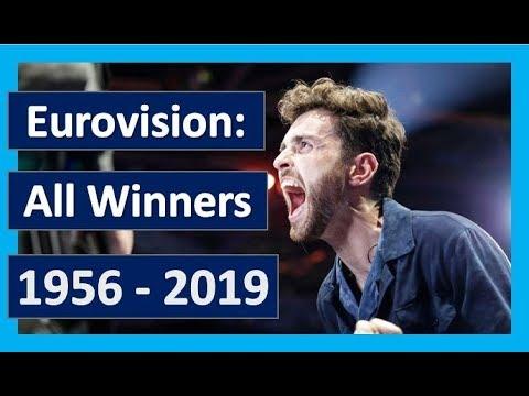 EUROVISION: ALL WINNERS 1956 - 2019