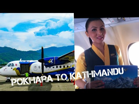 Full flight video from pokhara to Kathmandu with lovely weather