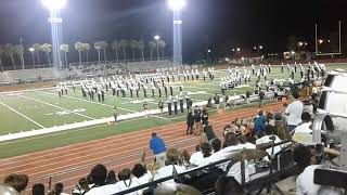 Winter Park High School Marching Band Halftime Show