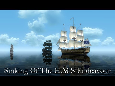 Pirates Of The Caribbean: Sinking Of The H.M.S Endeavour