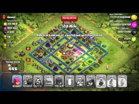 Clash of Clans attack to Kemal