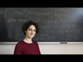 Sylvia Serfaty: In Mathematics, 'You Cannot Be Lied To'