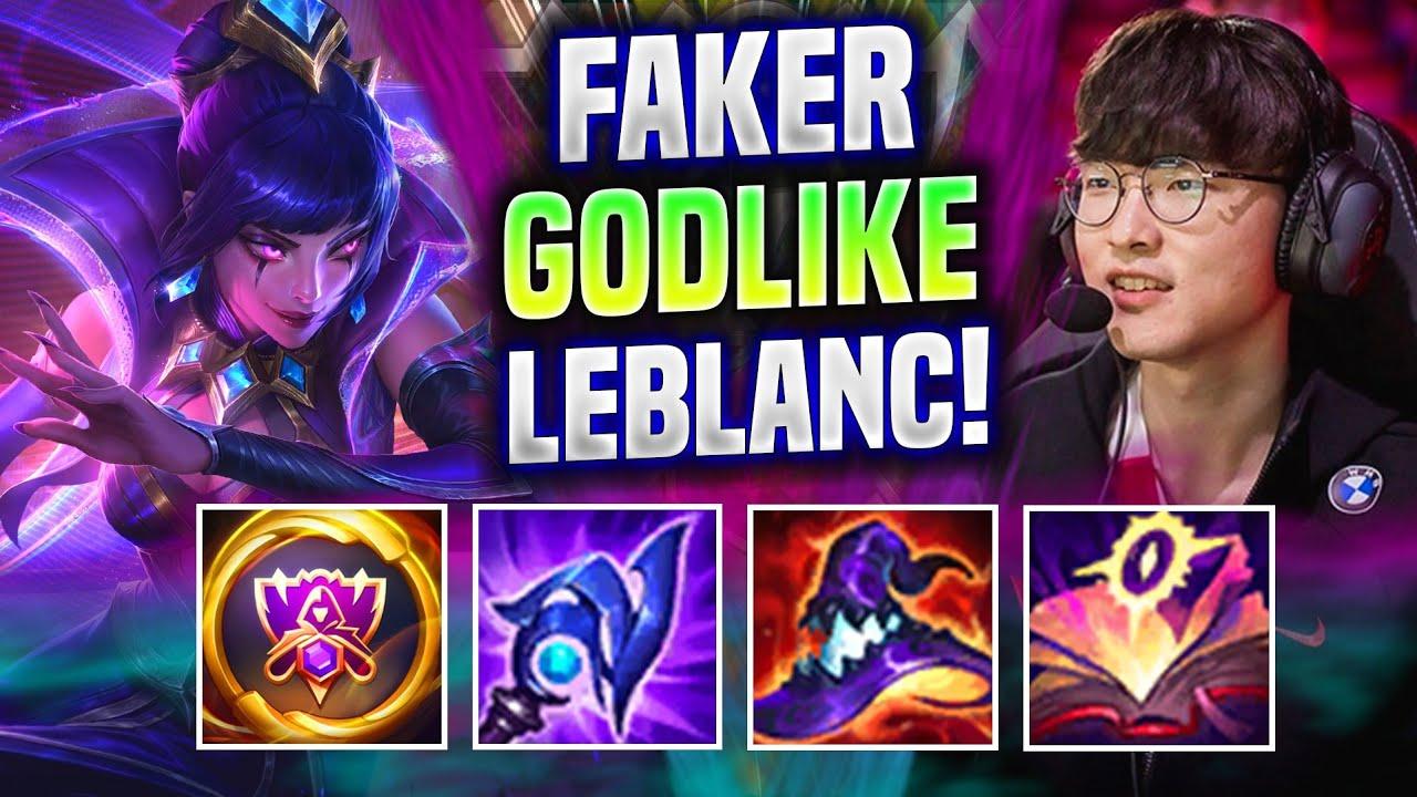 FAKER ABSOLUTE GOD LEBLANC MAIN! - T1 Faker Plays Leblanc Mid vs Vladimir!   Worlds Bootcamp 2021