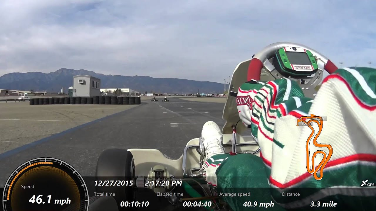 Tony Kart Racer 401 Exceeding The Limits Of Grip