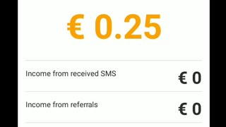 SMS earn money app