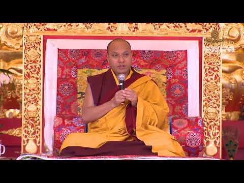Teaching at Karma Triyana Dharmachakra 1 / 4