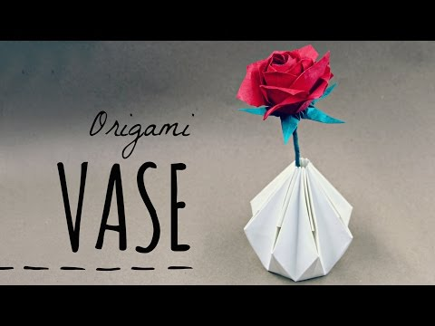 How to make an Origami Vase (Tadashi Mori)