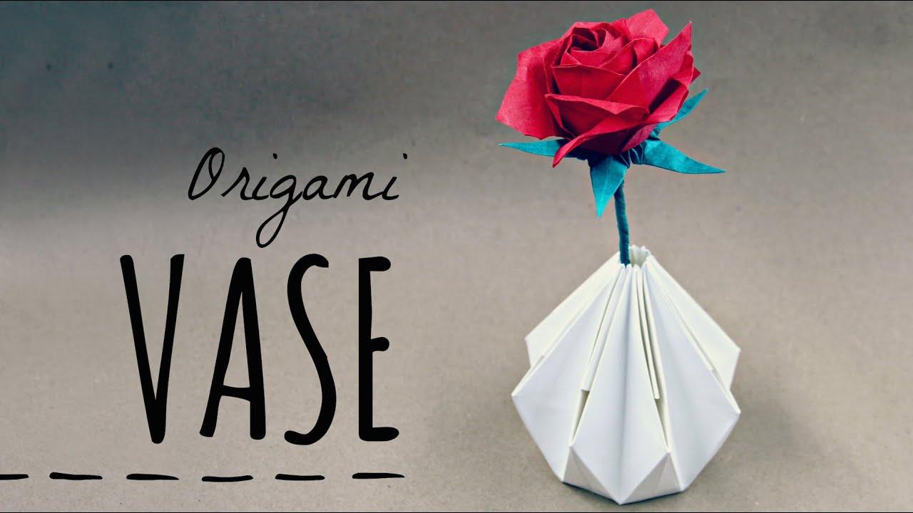 How To Make An Origami Vase Tadashi Mori