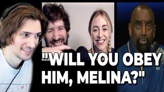 xQc Reacts to Jesse Lee Peterson Debates Melina & Destiny