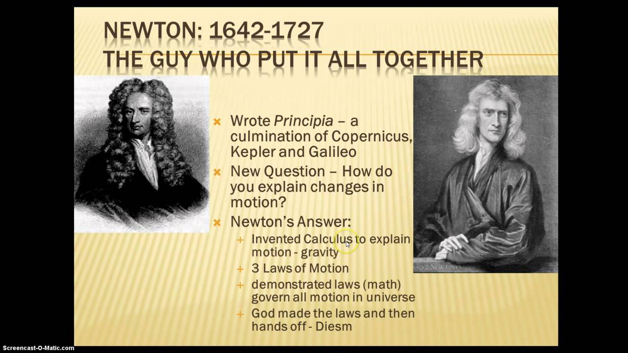 descartes and newton Theories of light from descartes to newton  fixing the record on descartes' rules for impact  magnificent principia: exploring isaac newton's masterpiece.