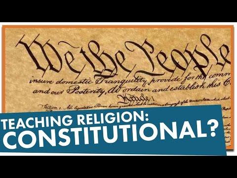 Should Public Schools Teach Religion?