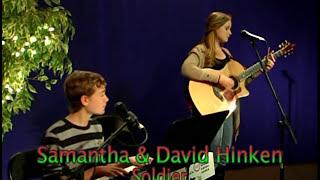 Samantha & David Hinken - On Stage with Mantis - Soldier