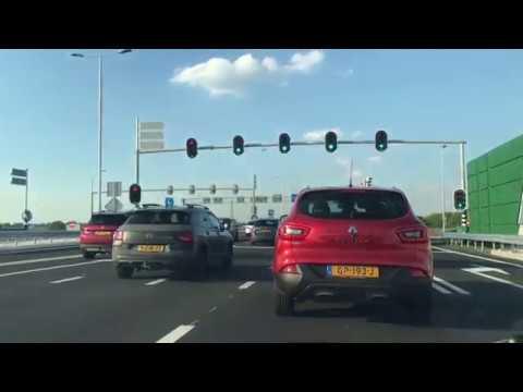 Timelapse van Kotten naar Enschede via de nieuwe N18