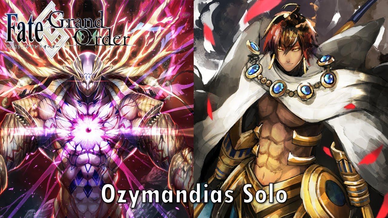 【FGO】Solomon - vs Goetia - Ozymandias Solo