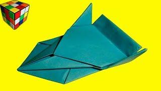 Как сделать МАШИНУ из бумаги. Машина оригами своими руками. Поделки из бумаги