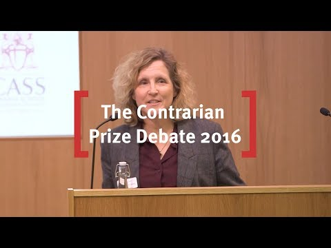 The Contrarian Prize Debate 2016: Contrarianism in the age of conformity.