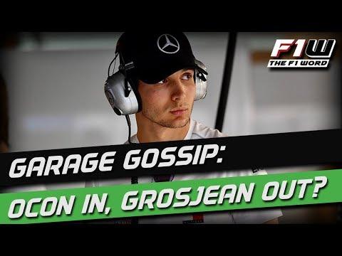 Garage Gossip: Ocon To Replace Grosjean?
