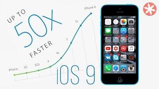 Как ускорить работу iPhone в 4 раза! Новая жизнь для iPhone 5c