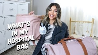 WHAT'S IN MY HOSPITAL BAG FOR LABOR AND DELIVERY!! | Hillary Alex